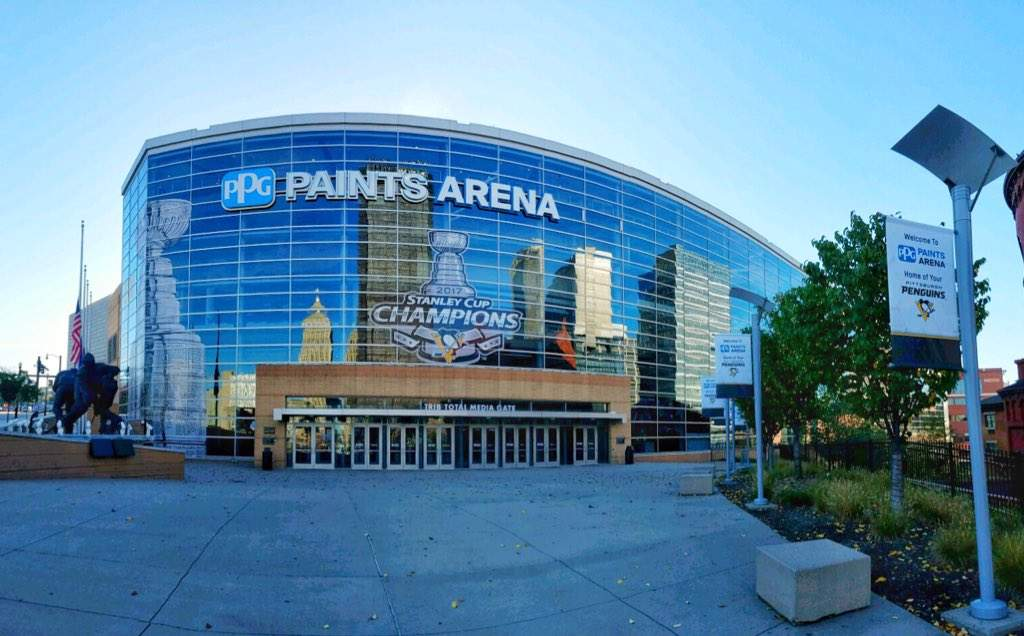 Ppg paints arena visit pittsburgh for Hotels close to ppg paints arena