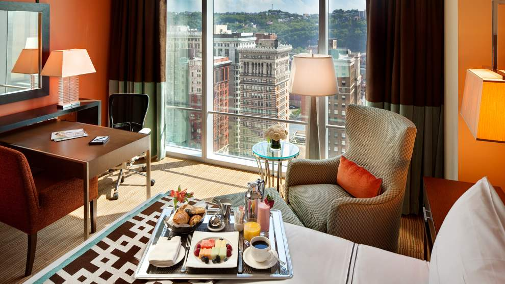 Fairmont Pittsburgh King Room