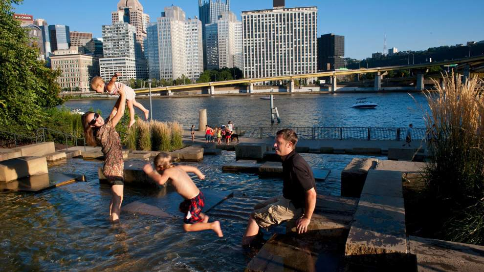10 Wet Ways to Stay Cool in Pittsburgh