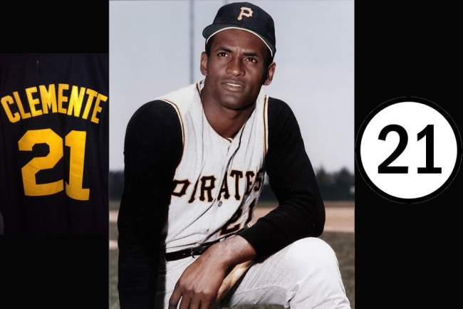 It Is A Pittsburgh Tradition The Famous Pirates Right Fielder Roberto Enrique Clemente Walker Wore The Number